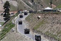 中印がカシミール地方で衝突、インド軍3人死亡 45年ぶりの死者