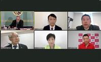 都知事選候補者が共同会見 日本記者クラブ