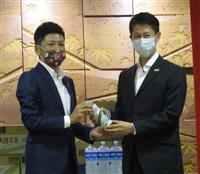 西日本豪雨で被災したコカ・コーラ広島工場が生産再開