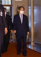 自民・二階幹事長「厳粛に受け止める」 河井夫妻逮捕で