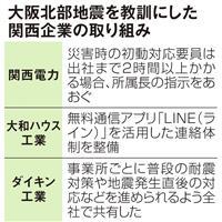 大阪北部地震の教訓は活かせたか 「無理して出社しない」通勤時の被災対策