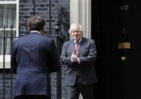 EUと交渉「長引かせる意味ない」 英仏首脳会談でジョンソン氏