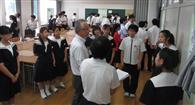 ビッグデータ活用し探求学習 奈良・聖心中教校 根拠ある地域活性策提言