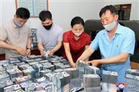 韓国非難ビラ1200万枚準備、拡声器も再設置 北「報復の時刻迫る」