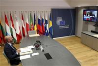 EUと中国首脳がオンライン会議 香港問題など協議か