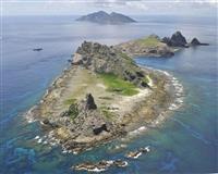 尖閣周辺に中国船 71日連続