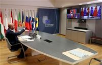 中国のサイバー攻撃批判 EU中国首脳会議で 米中「新冷戦」とは距離 米の呼びかけに応じ…