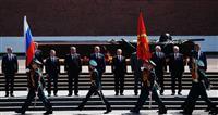 露プーチン政権が軍事パレード 改憲投票へ愛国心高揚