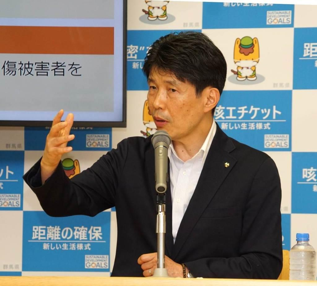 群馬県知事が正式発表 SNS中傷の被害者支援 相談受け法的助言、全国初の条例制定