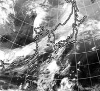 九州北部で局地的豪雨 佐世保で1時間に80ミリ超