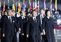 朝鮮戦争70年 文氏は「仲良い隣人へ」と対話呼び掛け 北は核抑止力増強