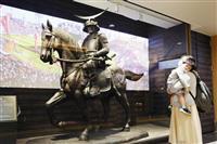 仙台駅に伊達政宗騎馬像 12年ぶりにシンボル復活