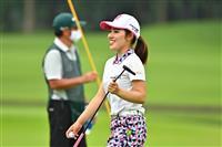 古江、要所で粘り25位→2位浮上 女子ゴルフ