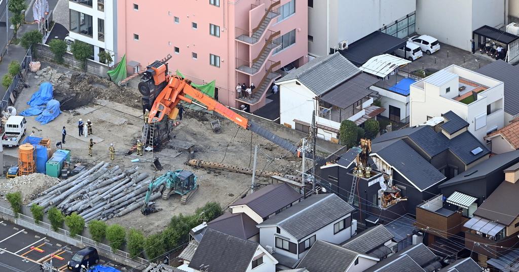 クレーン 事故 福岡