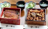 【ヒューリック杯棋聖戦】昼食はうな重VS海老天重