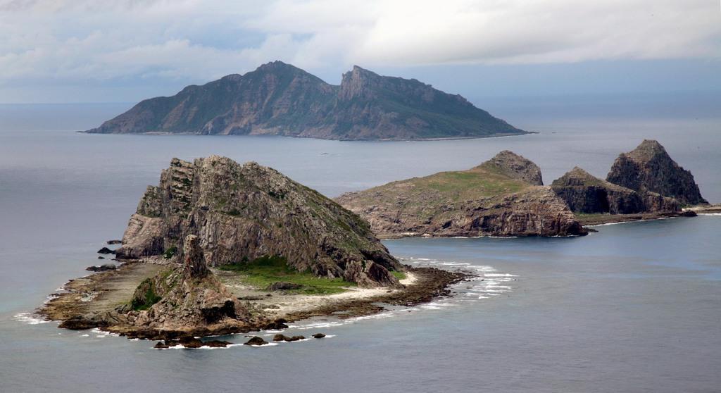 夕刊フジ写真 尖閣諸島