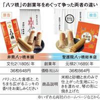 京のこだわり「伝統は法律より厳しい」八ツ橋創業年訴訟は続く