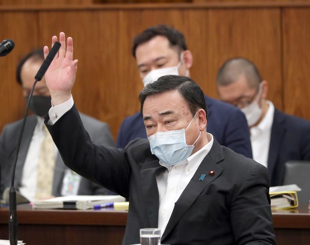 「韓国は手続き止めて対話を」 WTO提訴で梶山経産相