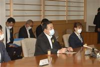 梶山経産相と青森知事 新型コロナ、エネルギー政策で会談