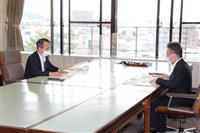 関電森本社長、中間貯蔵施設「年内に計画地」を維持