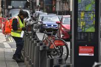 【ロンドンの甃】増えるサイクリスト