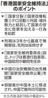 香港国家安全法が施行 「一国二制度」が形骸化、歴史的な岐路に