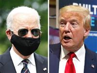 米大統領選 トランプ氏、激戦州でバイデン氏に後れ 再選に黄信号か