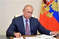 プーチン氏、改憲成立で「国民に感謝」