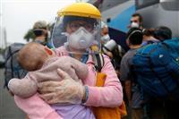 ペルーでコロナ死者1万人超える 10カ国目
