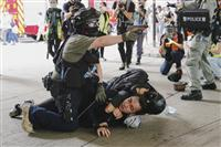 香港で国安法初の起訴