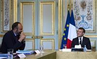 フランス首相交代へ マクロン大統領、政権刷新の意向で