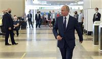 露改正憲法、4日発効 プーチン氏が署名