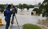 大雨特別警報の熊本、鹿児島 避難指示の対象は10市町村に