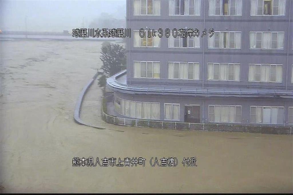 3万3000回線が不通 NTT、豪雨の熊本南部
