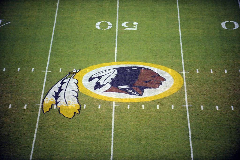 米NFLのワシントン・レッドスキンズのマーク(AP)
