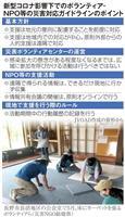 【新防災-西日本豪雨2年】(下)ボランティア、迫られる変化