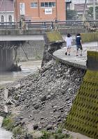 西村担当相、熊本豪雨被害「今夜からあす、十分注意を」