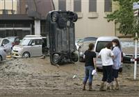 【動画】池に浮く乗用車、横転したバス…熊本豪雨の被災地「とても住めない」