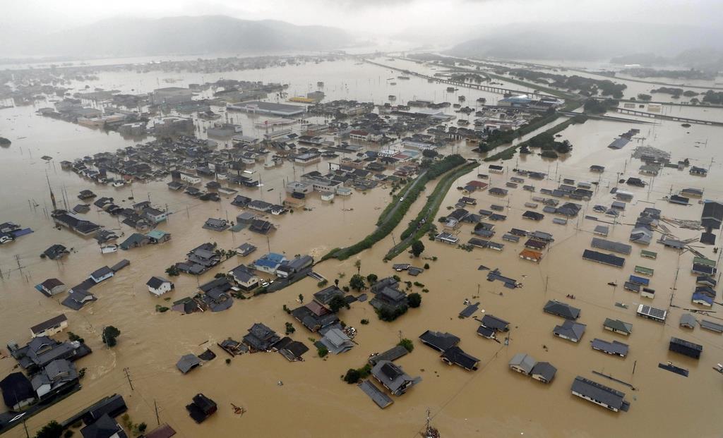 西日本豪雨2年 防災計画は74市区の1/3超、感染症流行時の対策なし