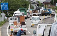 熊本豪雨で江藤農水相「食料支援、被害把握を迅速に」