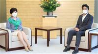 小池都知事が首相と面会 国との連携を確認