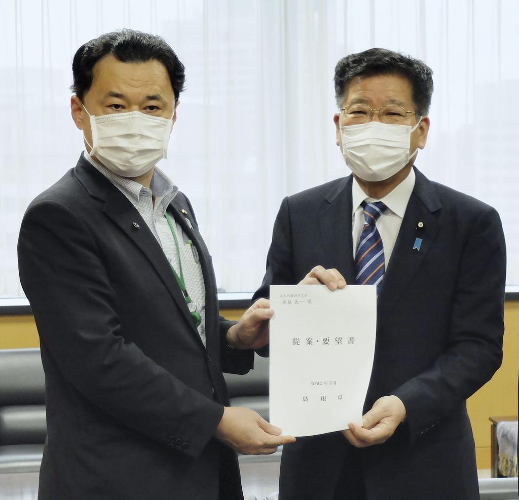 島根県が竹島対応要請 衛藤氏「啓発活動に努力」