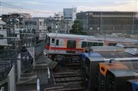 ブレーキ操作遅れが原因 阪神電鉄尼崎車庫の事故