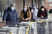 米、28日連続で新規感染者最多更新 都市封鎖も現実味