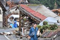 特定非常災害に指定へ 九州の豪雨、政府