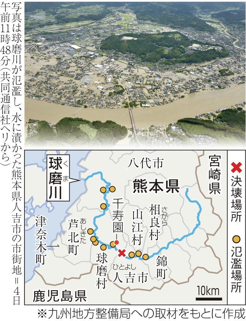 ダムによらない治水」進まなかった球磨川 - 産経ニュース
