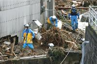 九州豪雨、平内閣府副大臣「激甚災害指定の見通し」
