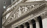 NY株反落、396ドル安 米コロナ感染増を懸念