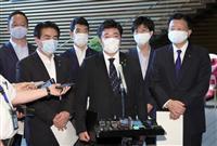 自民・中山外交部会長、対中非難決議を菅官房長官に提出