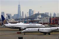 米ユナイテッド航空 従業員の4割一時帰休も
